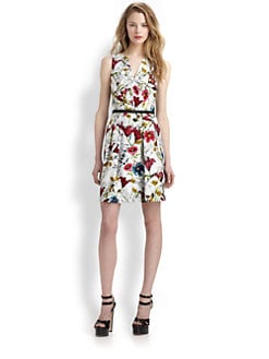 Hunter Bell - Printed Short Dress