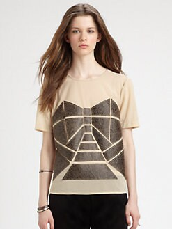 Fashion Star - Short Sleeve Top By Daniel Silverstein