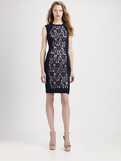 Hunter Bell - Lace Knit Dress