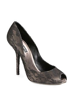 Dolce & Gabbana - Lace Pumps