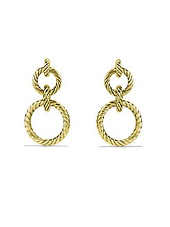 David Yurman - Cable Door Knocker Earring/18K Gold