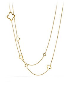 David Yurman - 18K Yellow Gold Link Necklace