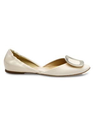 Ballerine Chips Patent Leather d'Orsay Flats