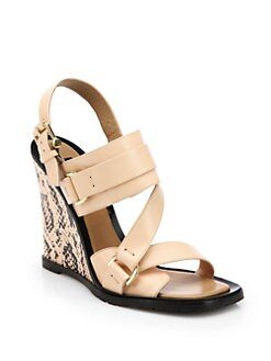 Derek Lam - Gillis Wedge Sandals
