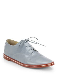 MM6 Maison Martin Margiela - Leather Oxfords