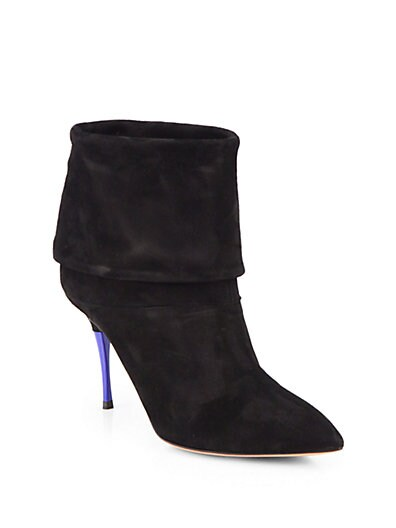 Sasha Suede Ankle Boots