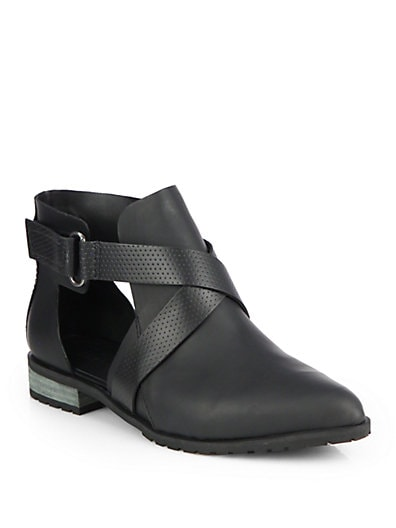 Gail Leather Ankle Boots