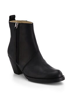 Acne Studios - Pistol Leather Ankle Boots