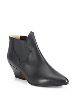 Acne Studios - Alma Leather & Elastic Pixie Ankle Boots