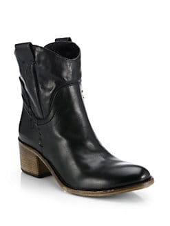 Alberto Fermani - Volo Leather Mid-Calf Boots