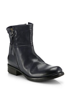 Alberto Fermani - Novara Leather Mid-Calf Boots