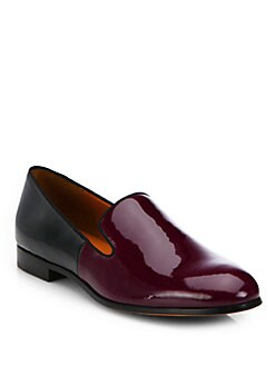 Marc by Marc Jacobs - Clean Sexy Patent Leather Slip-On Loafers
