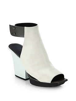 3.1 Phillip Lim - Juno Leather High Vamp Sandals