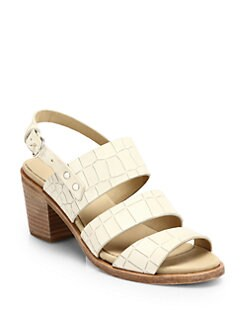 Rag & Bone - Folsom Cracked Leather Sandals