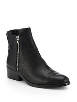 3.1 Phillip Lim - Alexa Leather Double-Zip Ankle Boots