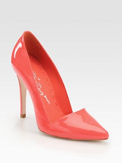 Alice + Olivia - Dina Patent Leather Pumps