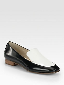 Elizabeth and James - Cassi Bicolor Leather Loafers