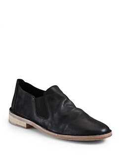 Vince - Mia Leather Moccasin Loafers