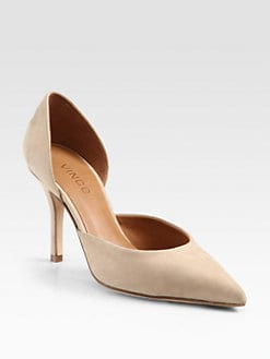 Vince - Celeste Nubuck Leather Pumps