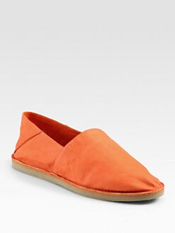 Vince - Kia Leather Slip-On Flats