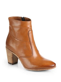 Alberto Fermani - Diva Leather Ankle Boots