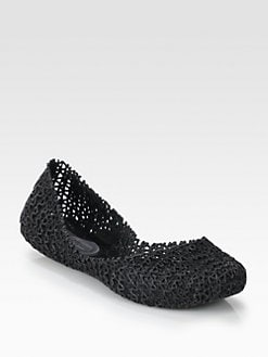 Melissa - Melissa Campana Woven Jelly Ballet Flats