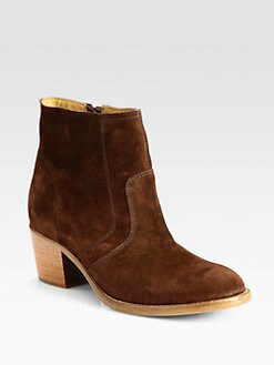 A.P.C. - Suede Ankle Boots