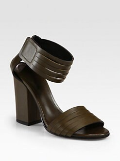 Vince - Lara Leather Ankle Strap Sandals