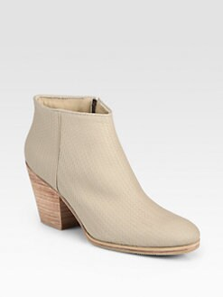 Rachel Comey - Mars Tusk Woven Leather Ankle Boots