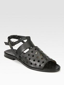 Rachel Comey - Anchor Perforated Leather Sandals