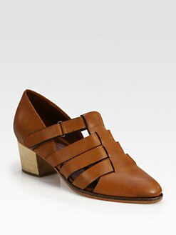 Rachel Comey - Bailey Woven Leather Pumps