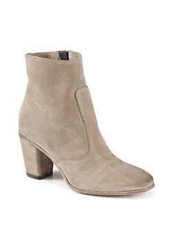 Alberto Fermani - Diva Suede Ankle Boots