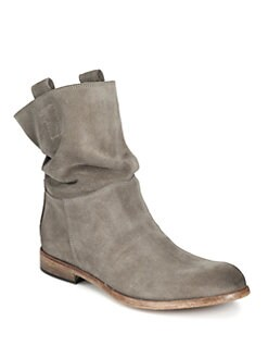 Alberto Fermani - Umbria Suede Slouchy Boots