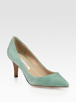 Diane von Furstenberg - Anette Suede Pumps