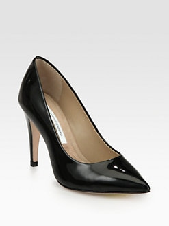 Diane von Furstenberg - Anette Patent Leather Pumps