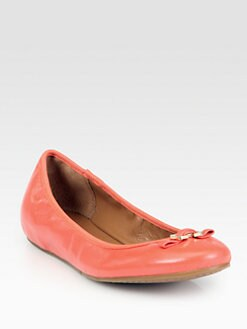 Diane von Furstenberg - Bion Leather Buckle Ballet Flats