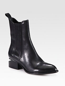 Alexander Wang - Anouck Chelsea Leather Boots