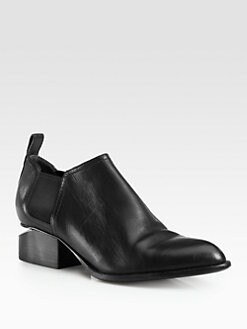 Alexander Wang - Kori Leather Ankle Boots