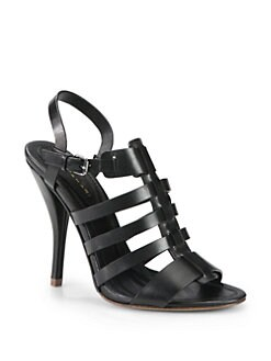 Elie Tahari - Deron Strappy Leather Sandals