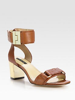 Rachel Zoe - Madeline Leather Ankle Strap Sandals