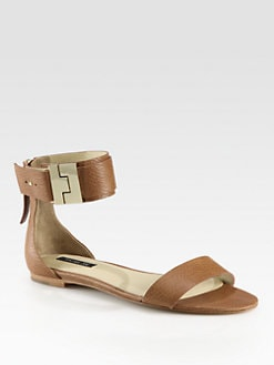 Rachel Zoe - Gladys Leather Ankle Strap Sandals