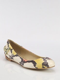 Rachel Zoe - Laura Snakeskin Ballet Flats