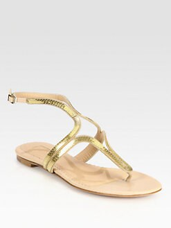 Aquazzura - Caipiroska Flat Sandals