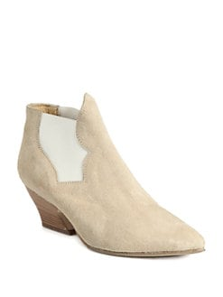 Acne - Alma Suede Ankle Boots