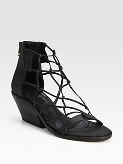 LD Tuttle - Freeze Knotted Leather Sandals
