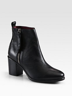 Opening Ceremony - Brenda Leather Ankle Boots