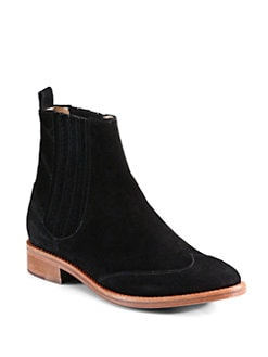 Opening Ceremony - Chelsea Suede Ankle Boots