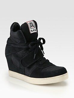 Ash - Cool Suede Wedge Sneakers
