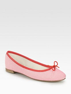 Repetto - BB T-Shirt Canvas Ballet Flats