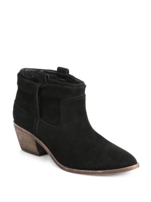 Ajax Suede Ankle Boots